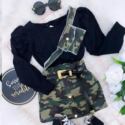 Camouflage Long sleeve Set