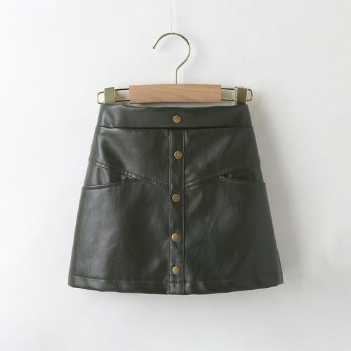 Pu Skirt