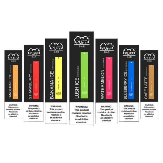 Puff Bar All Flavors