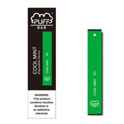 Puff Bar Cool Mint flavors
