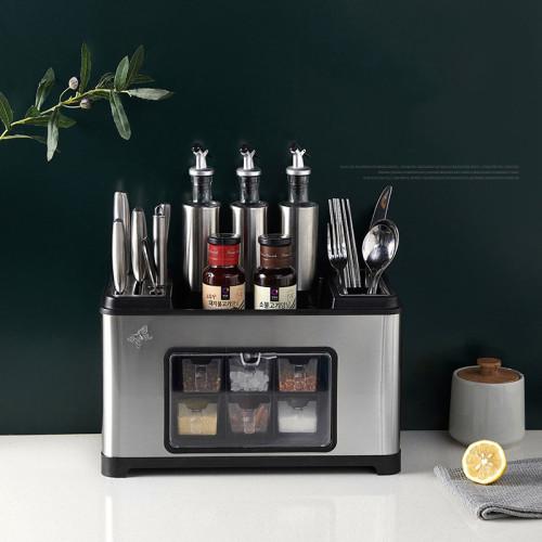 【歐美熱銷-意設計】進口廚房多功能不鏽鋼收納置物架