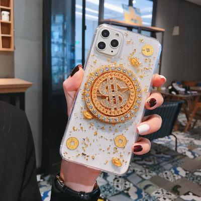 【旋轉手機殼】可以旋轉的手機殼  金光閃閃 滿滿奢華感 下訂兩個附贈10000大容量行動電源