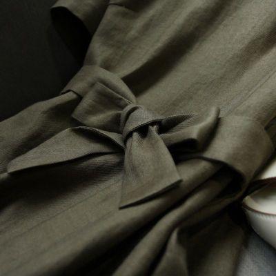 【純色收腰繫帶連衣裙】筆直挺拔身型,遮肉顯瘦 ,包容性好,自然無束縛 新品專區任選2件立減200 3件立減500