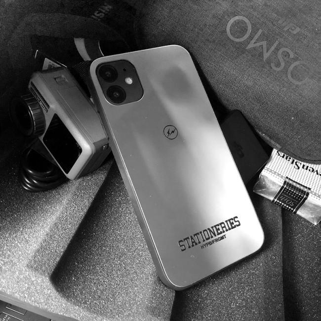 【閃電手機殼】藤原浩閃電鏡面iPhone保護殼  下訂2個附贈行動電源