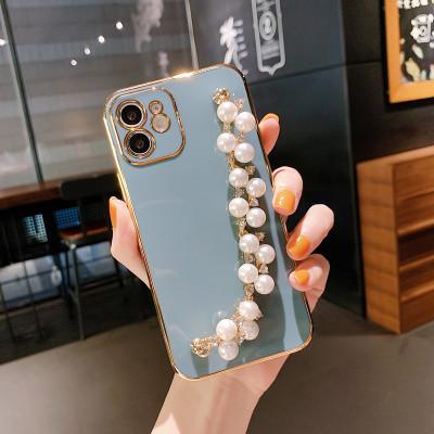【手鏈電鍍殼】iPhone系列 珍珠手鏈電鍍殼  任選2個 附贈行動電源