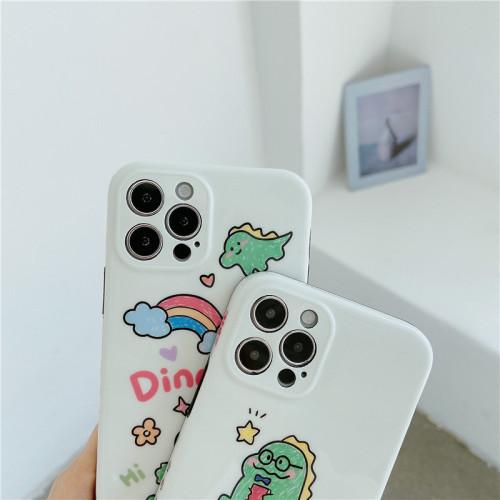 【恐龍手機殼】適用iPhone 可愛小恐龍手機殼  任選2個 附贈行動電源