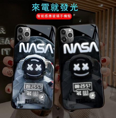 【潮牌原創手機殼】潮牌原創宇航員來電發光iPhone手機殼