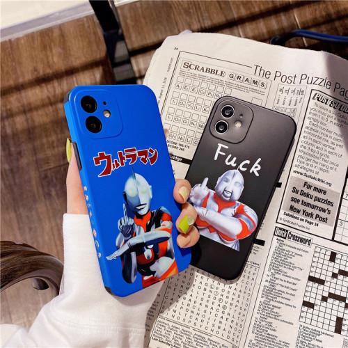 【搞怪奧特曼手機殼】iphone 潮牌搞怪奧特曼手機殼適用蘋果 防摔軟套