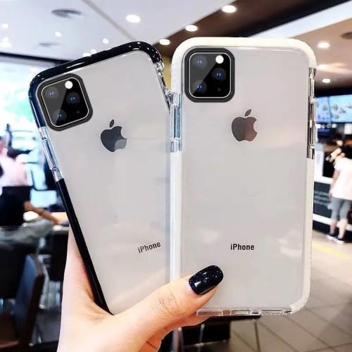 【雙色防摔保護殼】適用於iPhone雙色TPU防摔保護殼  任選2個 附贈行動電源
