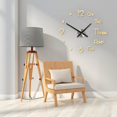 3D免打孔時鐘,一粘即可,不傷墻面,適用客廳、書房、臥室、走廊 下訂2件立減200
