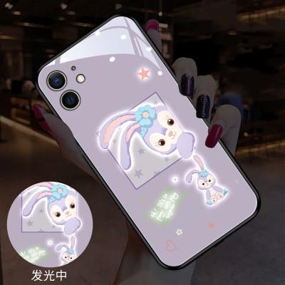 【發光兔子手機殼】適用iPhone 發光全包鏡頭可愛兔子手機殼 全場任選下訂2個 送大容量行動電源