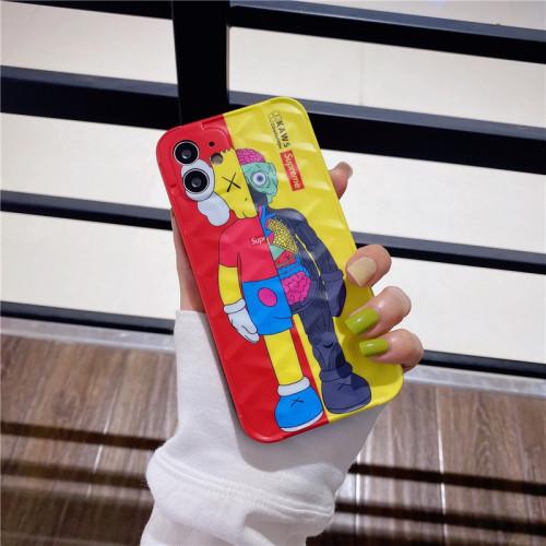 【解剖芝麻街】適用iPhone kaws芝麻街公仔解剖手機殼  全倌滿799免運費 附贈大容量行動電源