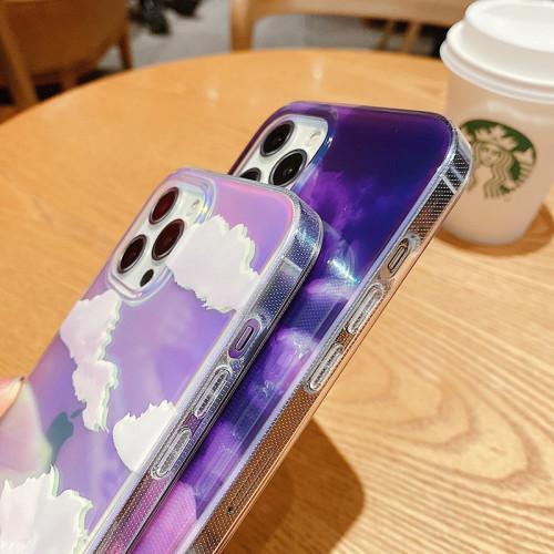 iPhone全適配 炫彩透明手機殼 前後四周全包 更全面保護手機