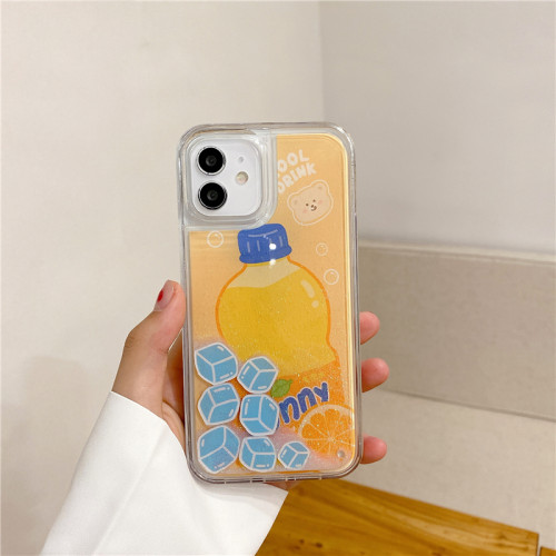 iPhone全適配 夏日流沙手機殼