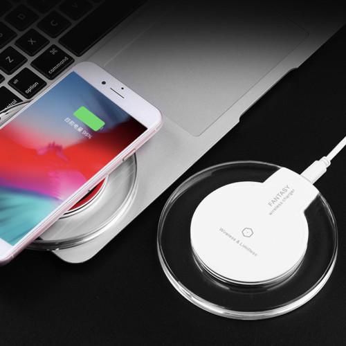 【適用各種類型手機】水晶造型,优雅美观 智慧充电,充满自停 放弃杂乱的数据连接线,更整洁,更实用,更灵敏。買一贈一僅需699!!