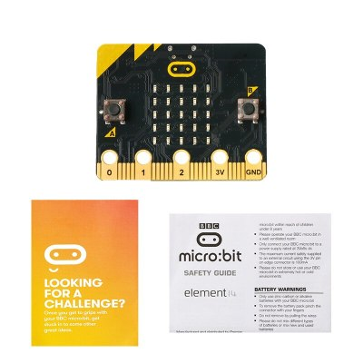 Board for Micro:bit BBC with Motion Detection, Compass, Programmable LED Display and Bluetooth for Kids Beginners