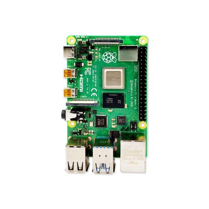 New Official Original Raspberry Pi 4 Model B Development Board Kit RAM 1G/2G/4G 4 Core CPU 1.5Ghz 3 Speeder Than Pi 3B+