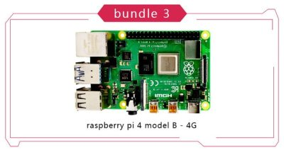 New Official Original Raspberry Pi 4 Model B Development Board Kit RAM 1G/2G/4G 4 Core CPU 1.5Ghz 3 Speeder Than Pi 3B+