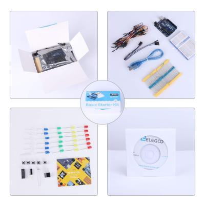 UNO Project Basic Starter Kit with Tutorial and UNO R3 Compatible with Arduino IDE