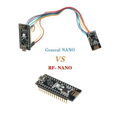 Nano V3.0 with NRF24l01+,Micro USB,ATmega328P,2.4G wireless For Arduino QFN32 5V CH340 USB Driver Nano Board With The Bootloader