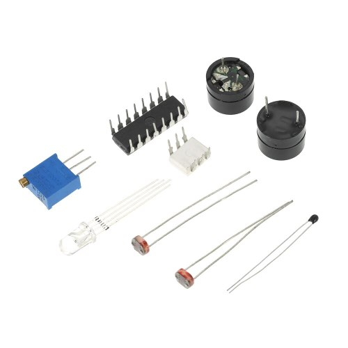 New Electronics Components Basic Starter Kit for Arduino UNO MEGA2560 Raspberry Pi with LED Buzzer Capacitor Resistor