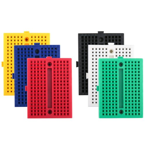 6PCS 170 tie-points Mini Breadboard kit for Arduino