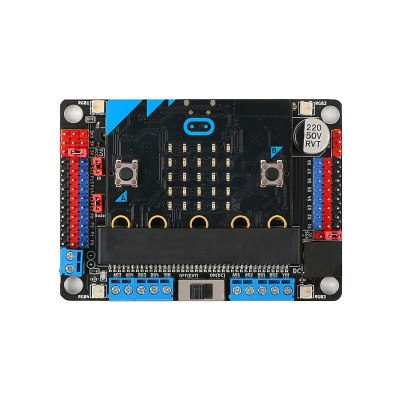 Motor:Bit Multifunctional Motor Drive Expansion Board DC Support 8 servos,Makecode,Scratch3.0,Mixly,Python