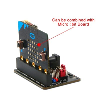 Expansion Board for Micro:bit GPIO Expansion Python IO:bit 5V with On Board Passive Buzzer