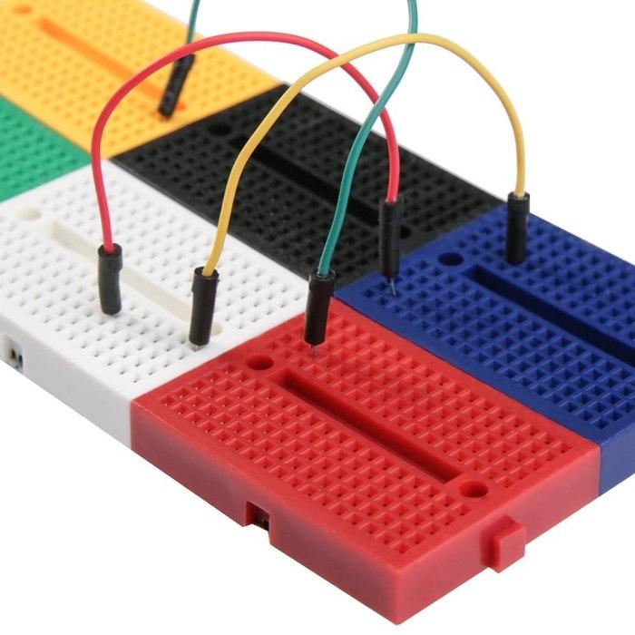 6PCS 170 tie-points Mini Breadboard kit for Arduino
