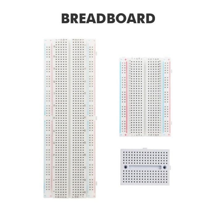 170/400/830 Tie Points PCB Breadboard MB-102 Circuit Board  Hole Board Experiment Board