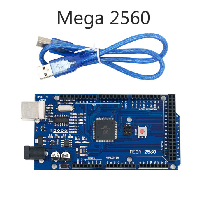 Mega 2560 R3 Mega2560 REV3 (ATmega2560-16AU CH340G) Board with USB Cable Compatible for Arduino