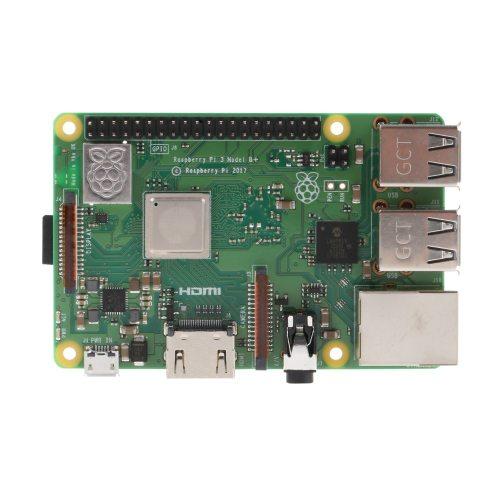 Raspberry Pi 3 Model B+ (plus) Built-in Broadcom 1.4GHz quad-core 64 bit processor Wifi Bluetooth and USB Port