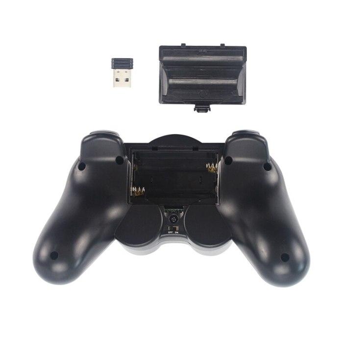 2.4G Wireless Gamepads Joystick Game Controller Joypad for PS3 PC Android Windows Raspberry Pi 4 Retroflag NESPi Retropie