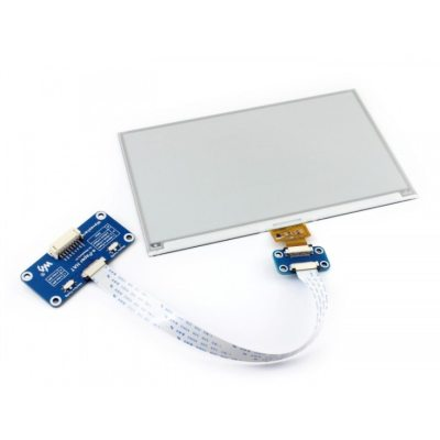 Waveshare 800x480 7.5inch E-Ink  HAT E-paper Display Supports Raspberry Pi STM32 Two-Color Ultra low power Consumption