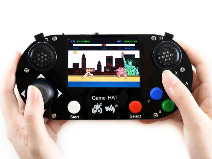 Video Game Console for Raspberry Pi 3.5inch 480*320 IPS Screen Acrylic Material Supports Recalbox/Retropie