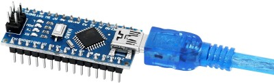 Nano V3.0, Nano Board ATmega328P 5V 16M Micro-Controller Board Compatible with Arduino IDE (Nano x 3 with USB Cable)