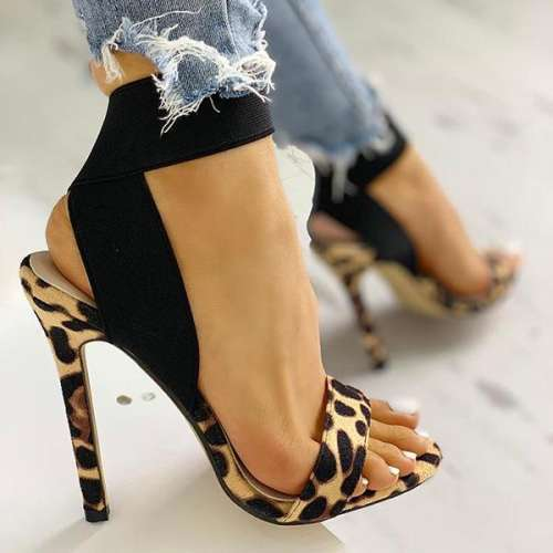 Leopard Fashion Women Sandals