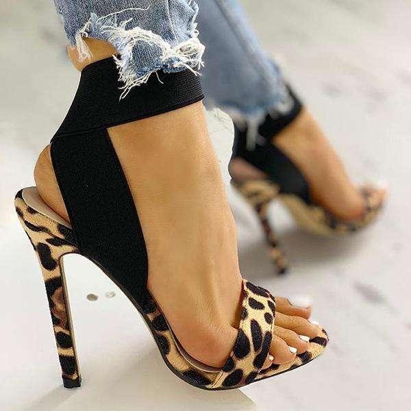 Leopard Fashion Women Sandals