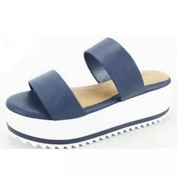 Women's Slingbacks Nubuck Wedge Heel Sandals