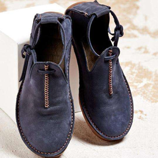 Plain Round Toe Casual Travel Flat & Loafers
