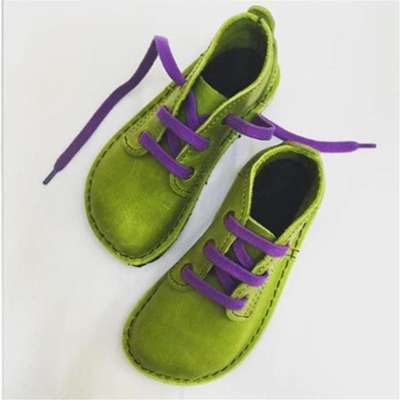 Retro Harajuku Style Lace-Up Shoes Women's Singles