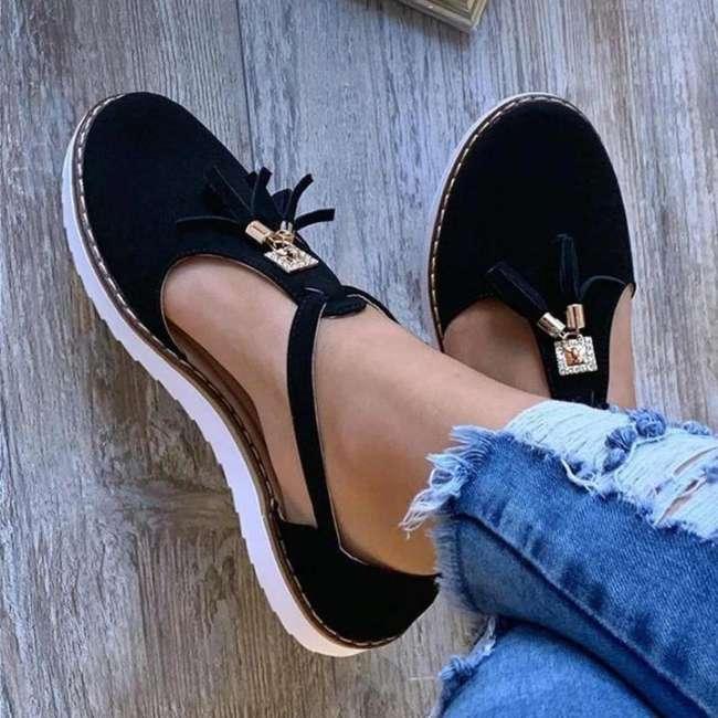 Women's Tassel Comfortable Flat Sandals