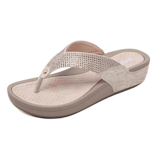 Women's Comfy Wedge Heel Slippers Sandals