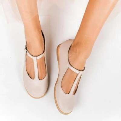 Pi Clue Summer Daily Leather Shoes