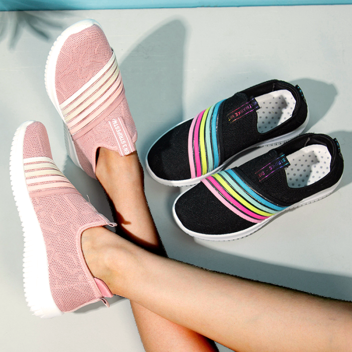 Fly-Woven Fabric All Season Sneakers