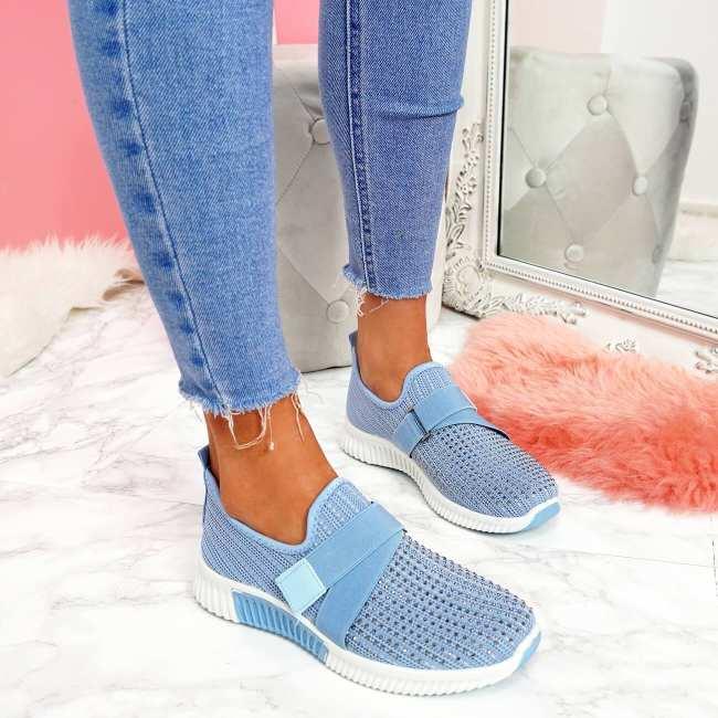 Mesh Flat Heel Sneakers