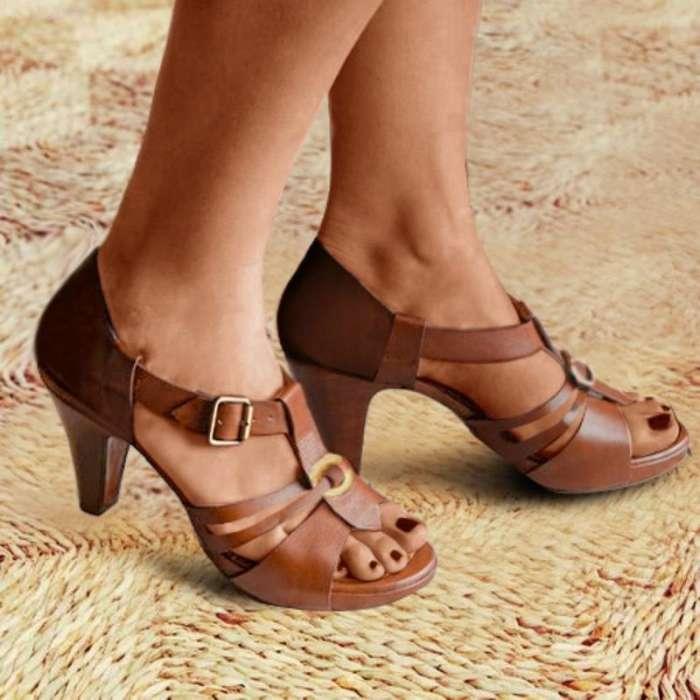 New Style Elegant Buckle Strap Sandals