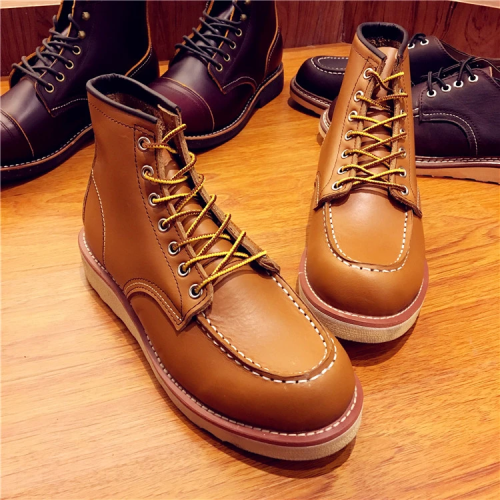 Men's Handmade Work Travel Wedding Casual Boots
