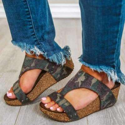 Daily Summer Wedge Sandals