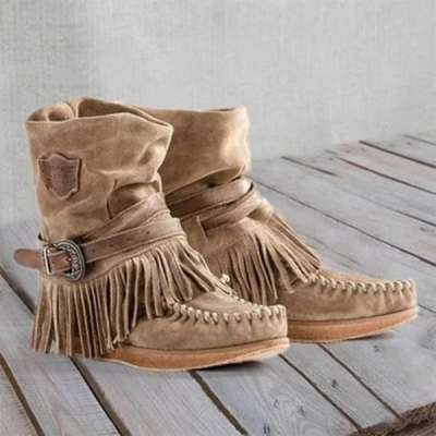 Casual Suede All Season Boots